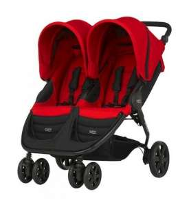 ����������� ������� Britax B-Agile Double Flame Red - ����������� 1