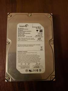 ������� ���� Seagate ST3750640AS - ����������� 1